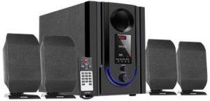 Intex 4.1 Wooden Subwoofer Multimedia Speaker (IT-301FMU)