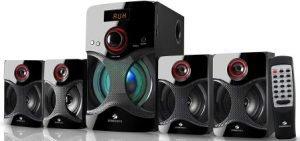 Zebronics 4.1 Channel Multimedia Speakers (BT4440RUCF)