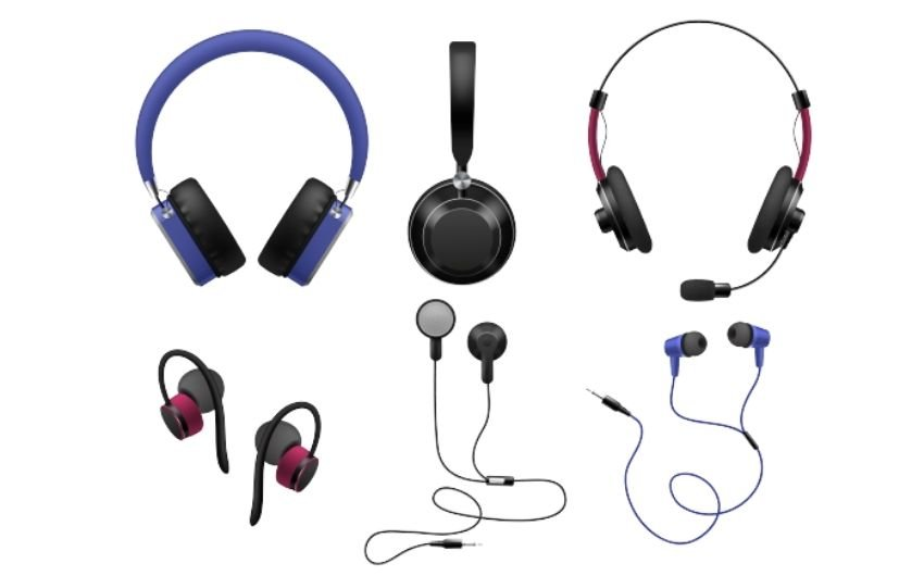 Types Of Earphones And Headphones