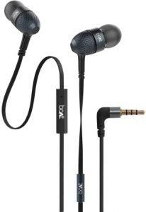 boAt BassHeads 225 in-Ear Wired Earphones black