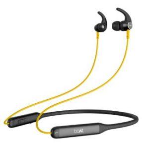 boAt Rockerz 330 Wireless Neckband Blazing Yellow