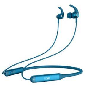 boAt Rockerz 330 Wireless Neckband Ocean Blue