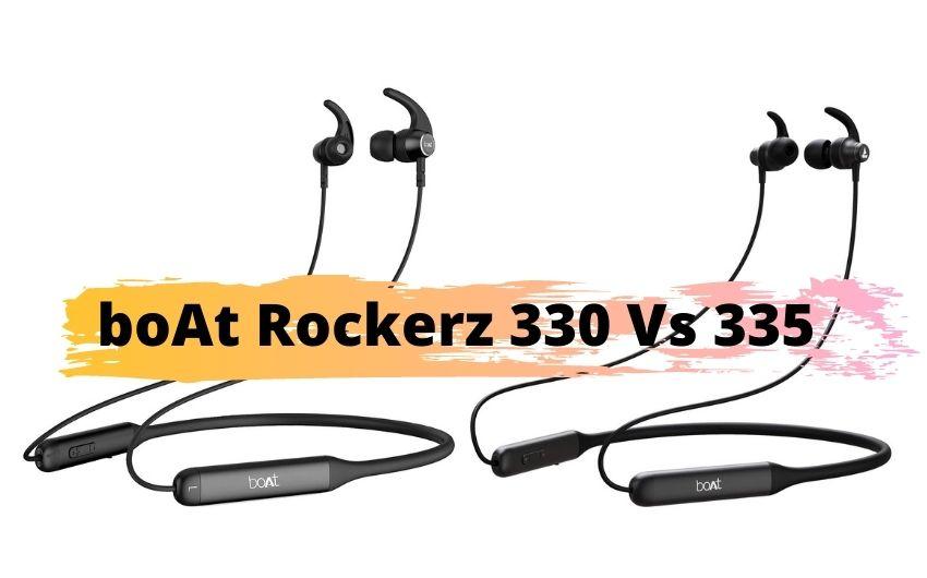 boAt Rockerz 330 vs 335 Review